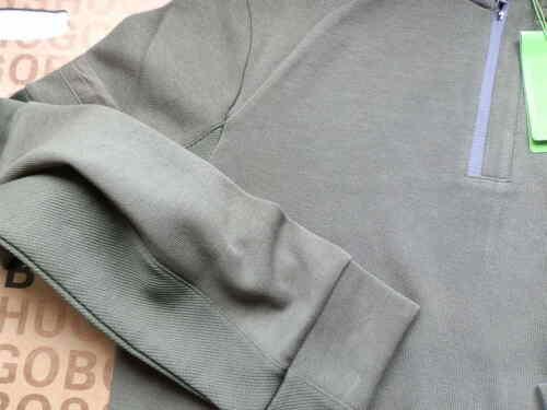Neuf Hugo Boss Homme Vert Pull Sweat Veste T-shirt Survêtement Costume Grande Taille L