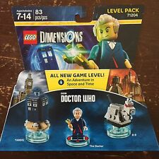 LEGO Dimensions 71204 - BBC Doctor Who Level Pack - NEW & SEALED Tardis K-9