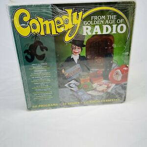 Comedy From The Golden Age Of Radio Box Set 19 Cassette Tapes 60 Programs 30 Hrs