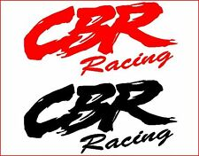 1 PAIR OF HONDA CBR RACING STICKERS/DECALS/GRAPHICS