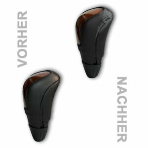 abdeckung lederbezug berzug f r schaltknauf mercedes w203. Black Bedroom Furniture Sets. Home Design Ideas