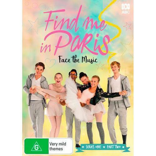 Find Me in Paris Face the Music (Series 1 - Part 2) DVD NEW (Region 4 Australia)