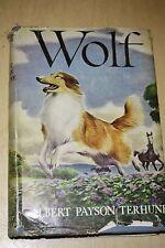 Wolf Albert Payson Terhune 1925 Antique Book