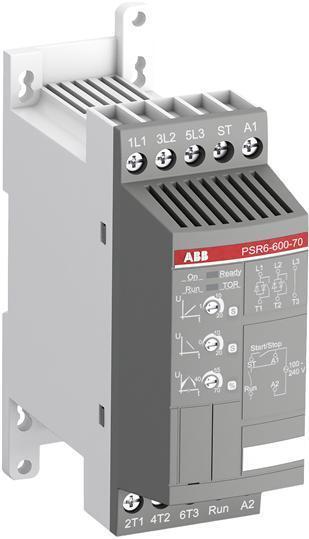 Anlaufstrombegrenzer Softstarter ABB PSR6 208-600VAC bis 3KW Elektromotore
