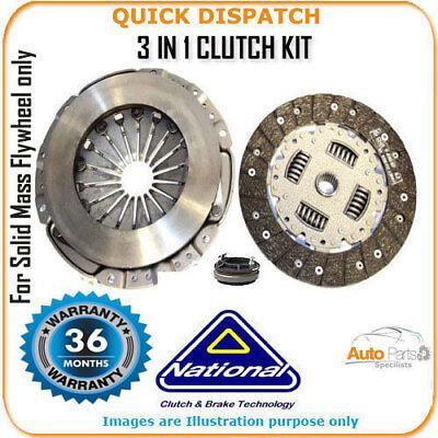 3 In 1 Clutch Kit Per Peugeot 407 Sw Ck10066s-