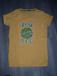 Damen-T-Shirt-Gelb-PV-Gr-XS-von-H-M