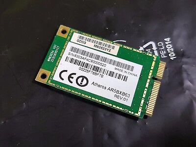Delizioso Wlan Wifi Card Mini Pci-e Atheros Ar5bxb63 Da Fujitsu Esprimo Mobile M9410- E La Digestione Aiuta
