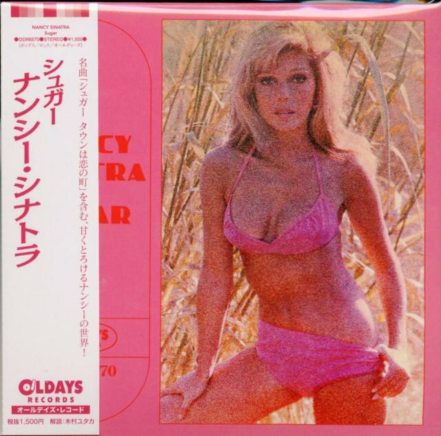 NANCY SINATRA-SUGAR-JAPAN MINI LP CD BONUS TRACK C94