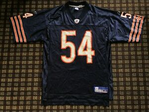low priced cdec0 0f362 Details about Reebok NFL Chicago Bears Men's Jersey Sz M Brian Urlacher  Navy Blue VTG