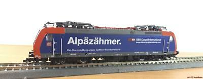 "Bello Tt E-lok Br185 (re482) Sbb Cargo ""alpäzähmer"" 4 Panthos Ep. V Audace 32302-mostra Il Titolo Originale"