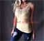 Women-039-s-Basic-Crochet-Lace-Front-Boho-Sleeveless-Stretch-Summer-Tank-Top-Shirt thumbnail 22