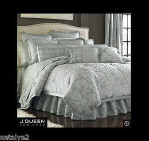 J Queen Rhapsody King Comforter Sheets Euros Amp 4 Pillows