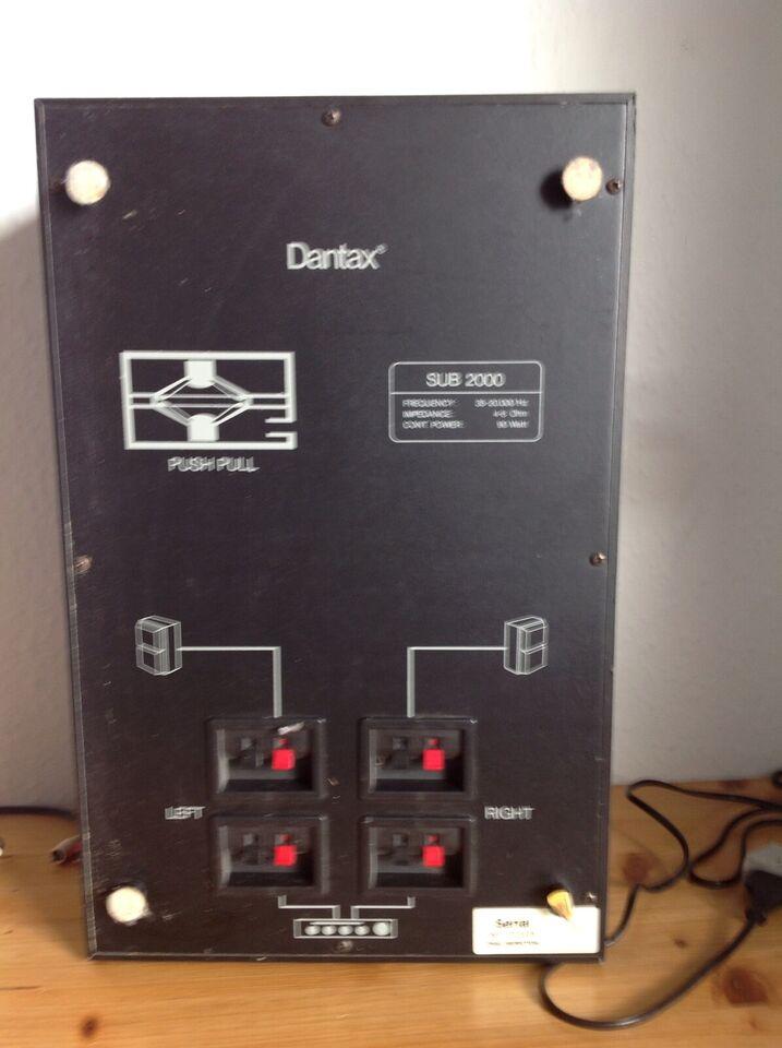 Højttaler, Dantax, Dantax satelite