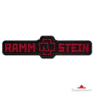 Rammstein-Logo-Black-and-Red-Music-Rock-Band-Embroidered-Patch-Iron-On-Sew-On