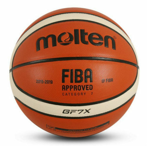 Molten Official Size 7 Durable Indoor 29.5'' GF7X Composite Leather Basketball