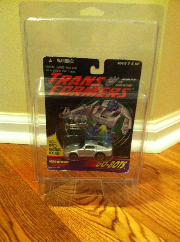MOSC G2 Go-Bots Megatron Transformers 1995 Gobots Vintage Japanese G1 Free Case