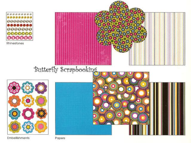 Super Cool 8X8 Scrapbooking Kit Me & My BIG Ideas NEW