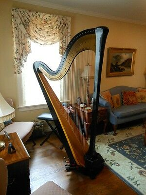 Beautiful Lyon & Healy Concert Grand Pedal Harp FOR SALE | eBay