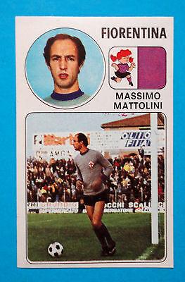 figurina NUMERO 53 FIORENTINA MATTOLINI CALCIATORI PANINI 1976//77 NEW