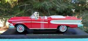 1958 Edsel Citation Convertible 1:18 Scale Road Signature by Yat Ming