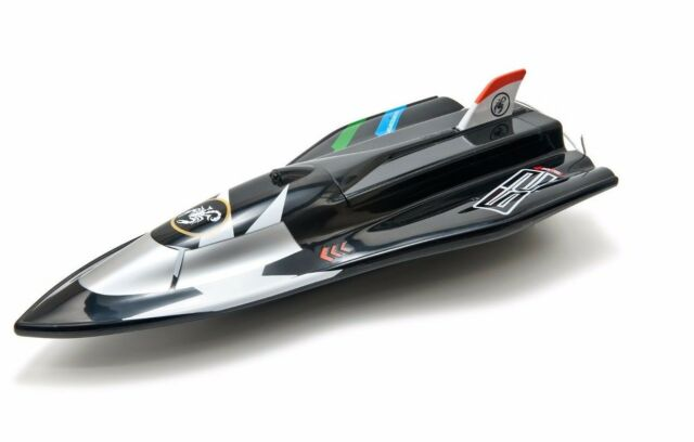 COBRA RC TOYS - RC RACE BOAT - MODEL 3362 (Black) - 40 CM W/ Full Warranty