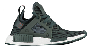 3fc8aa848250 Womens ADIDAS NMD XR1 PK Primeknit Utivy Green Running Trainers ...