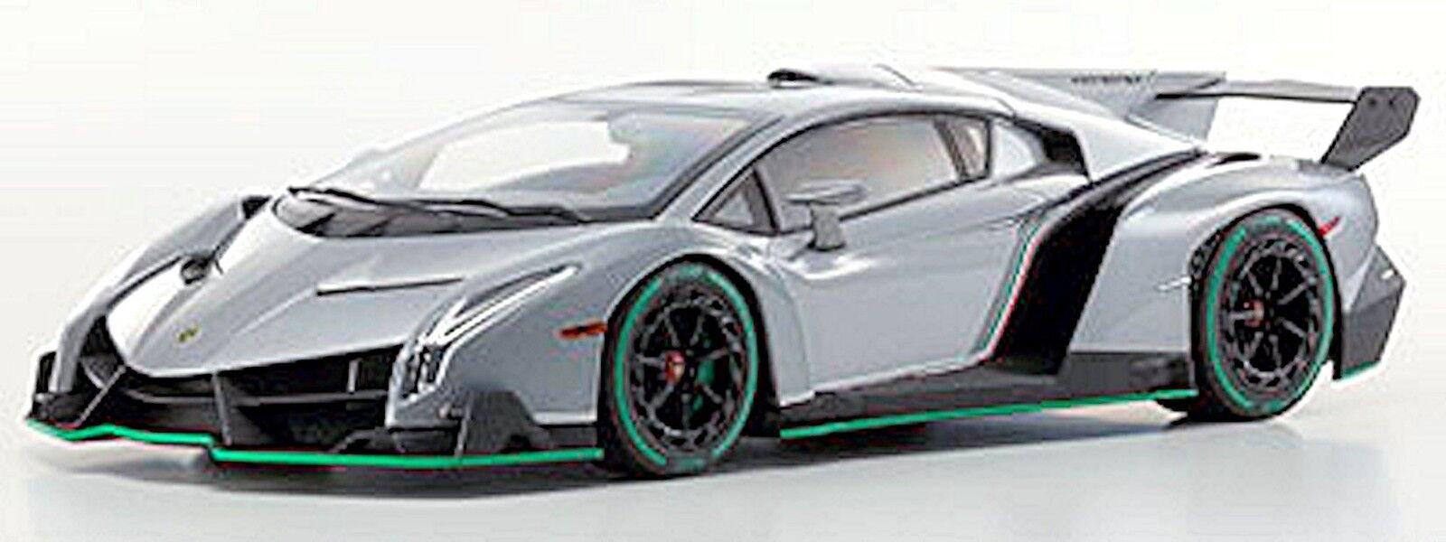 descuento de bajo precio Lamborghini Veneno Veneno Veneno Coupe 2013 gris verde Line 1 18 Kyosho  ventas de salida