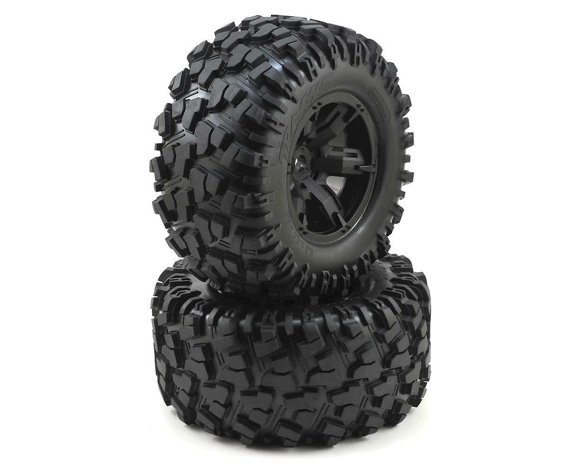 TRAXXAS X-MAXX 7772X 8 S Rated Tires & wheels wheels wheels assemblé & colles paire-Neuf baf720