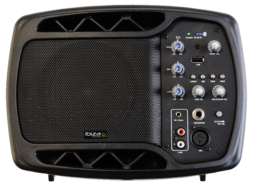 IBIZA MS5-150 Active Monitor Speakers Stage Monitor 150 W