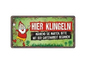 Vintage-Schild aus Metall MÄNNER HABEN PROBLEME