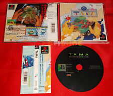 TAMA ADVENTUROUS BALL IN GIDDY LABYRINTH Ps1 Japan Version ○ COMPLETO - C6