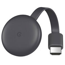 Google Chromecast 3rd Generation Full HD WiFi Media Streamer HDR - Refurbished