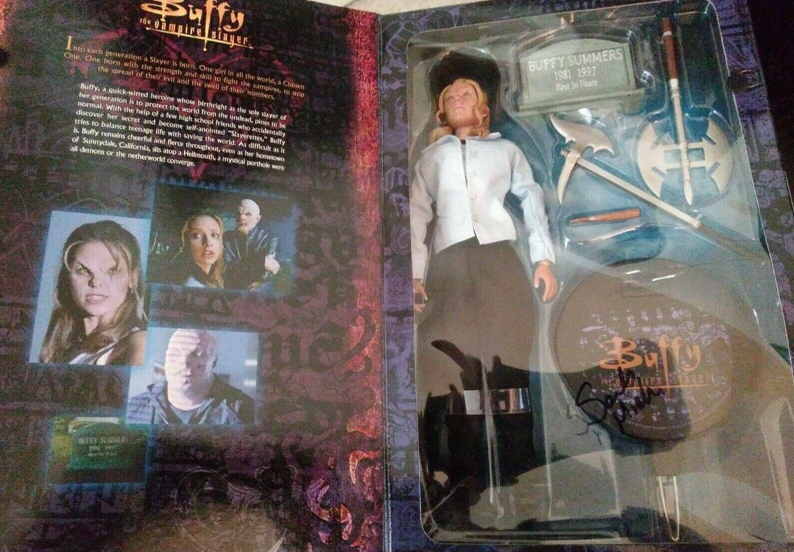 Autographed Buffy the Vampire Slayer Slayer Slayer Sixth Scale cifra By Sidemostrare Collectibles c1905d