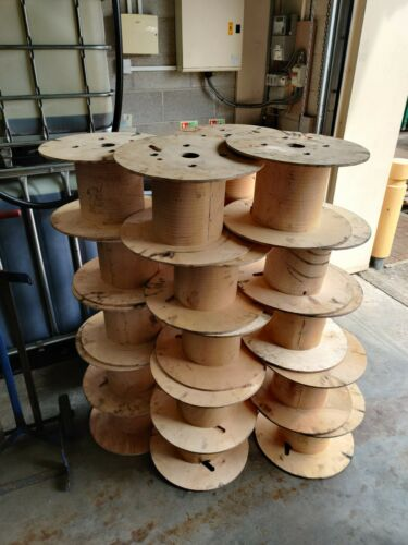 Wooden Cable Reels x 1
