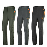 Men Camping Hiking Quick Dry Pants Breathable Water Resistant Wicking Trousers