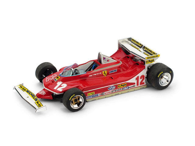 Ferrari 312 T4 GP Monaco 1979 G.Villeneuve  1 43 R514 Brumm Made in