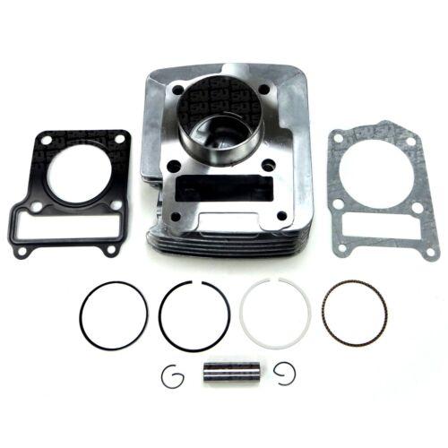 Cylinder Gasket Piston Rings Rebuild Kit Top End fits 2000-2005 Yamaha TTR 125