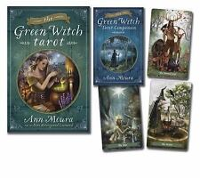 The Green Witch Tarot by Kiri Østergaard Leonard and Ann Moura (2015,...