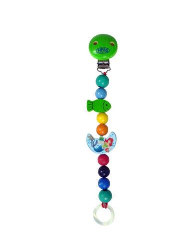 Hess Holzspielzeug Schnullerkette verschiedene Varianten