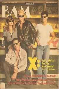 BAM california music magazine OCT 21 1983 HUEY LEWIS AND THE NEWS