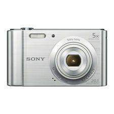 SONY CYBERSHOT DSC-W800 20.1 MEGAPIXELS DIGITAL CAMERA SILVER WITH 2 YR WARRANTY