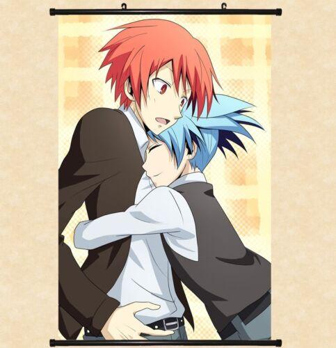 "Hot Japan Anime Assassination Classroom Home Decor Poster Wall Scroll 8/""x12/"" 07"