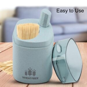 Automatic Toothpick Holder Container Toothpick Storage Box Toothpick Dispenser
