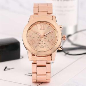Fashion-Stylish-Women-Lady-Quartz-Wrist-Watch-Bangle-Stainless-Steel-Band-Gifts