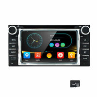 Car Stereo For Toyota 6.2 In Dash Autoradio Dvd Gps Multimedia Navigation Us