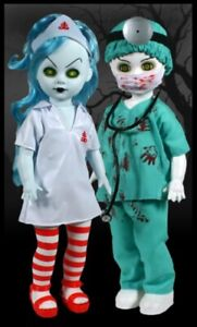 Living-Dead-Dolls-by-Mezco-Doctor-Dedwin-amp-Nurse-Necro
