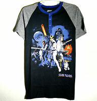 Brand Star Wars Old Guard Graphic Henley Graphic Tee T6565.8