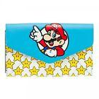 GW172YSMB Nintendo Super Mario Bros. Mario & Stars ENVELOP Wallet One Size Mul
