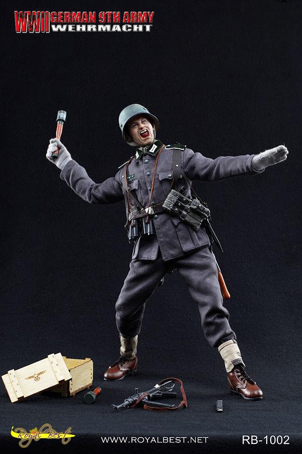 1 6 Scale Royal Best WWII German 9th Army Wehrmacht Johann Alber MIB w Shipper