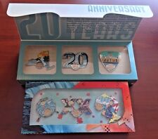 2016 HARD ROCK CAFE NIAGARA FALLS, USA & CANADA 20TH ANNIVERSARY (6) PIN BOX SET